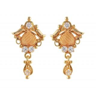 Gold Imitation Earring