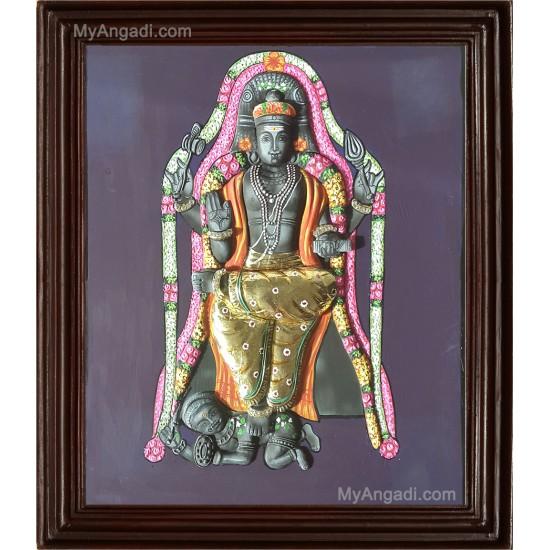 Dakshinamurthy 3D Tanjore Painting