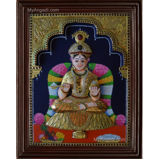 Annapoorani 3D Tanjore Painting