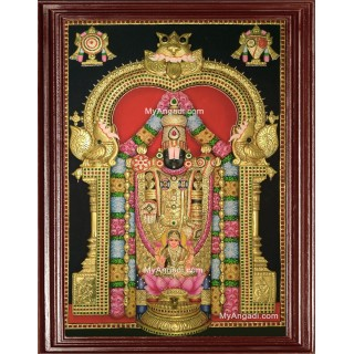 Balaji Lakshmi 3D Tanjore Painting