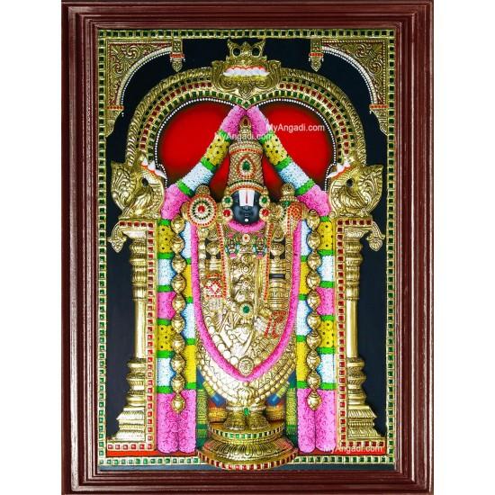 3D Balaji Tanjore Painting