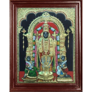 Uppliappan / Oppiliappan 3D Tanjore Painting