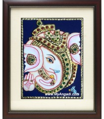 Small Ganesha Tanjore Paintings