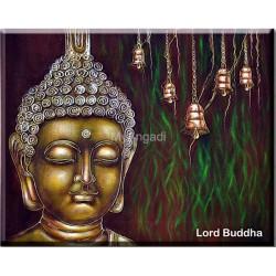 Buddha Acrylic Mural Paintings