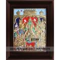Ramar Pattabishekam Tanjore Paintings