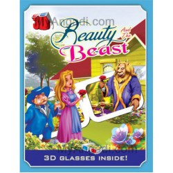 Beauty & the Beast - 3 D Book