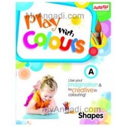 Books Play with Colours A - Shapes