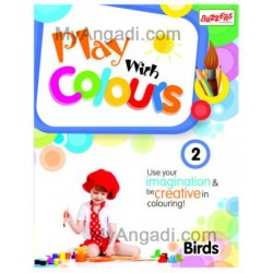 Books Play with Colours Vol 2