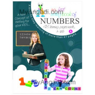 My First Writing Book - Numbers 1 - 20