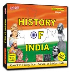 History of India 2 CD Set