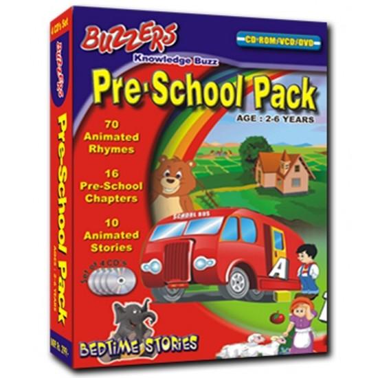 Preschool Pack 4 CD's
