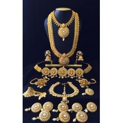 Gold Imitation - Full Bridal Set