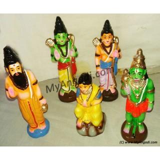 Agaligai Motcham Golu Dolls