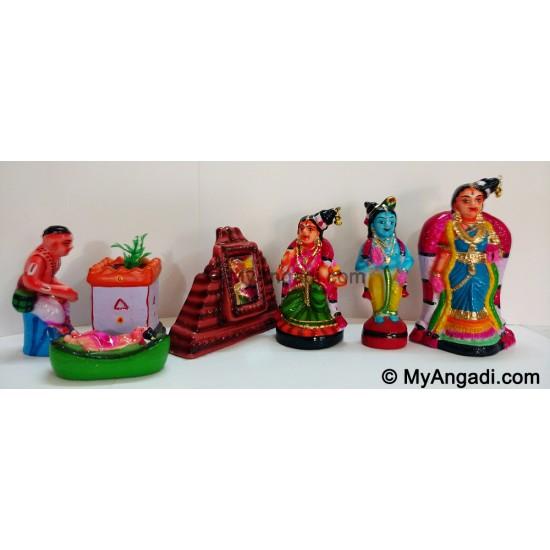 Andaal Jananam Golu Dolls