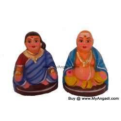 Chettiyar Set Small Golu Dolls