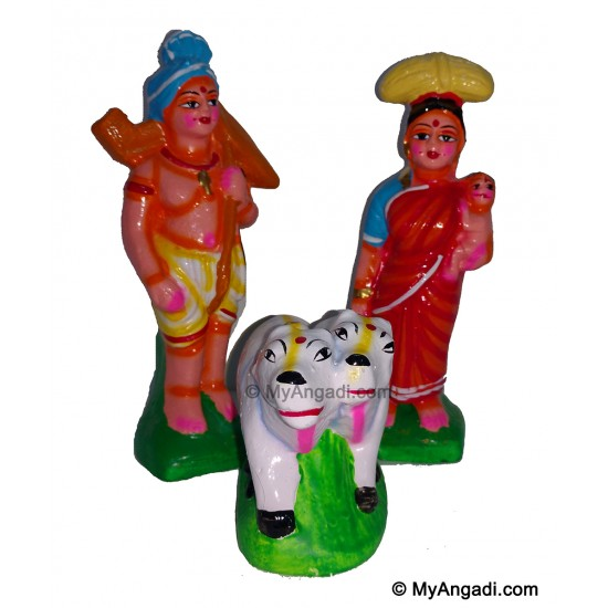 Farmer Set Golu Dolls