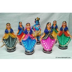 Gobiar Dance Big Golu Dolls