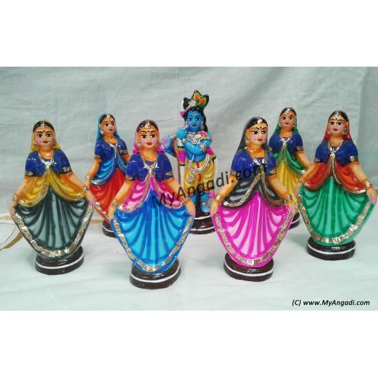 Gobiar Dance Big Golu Dolls