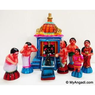 Kovil Set Golu Dolls
