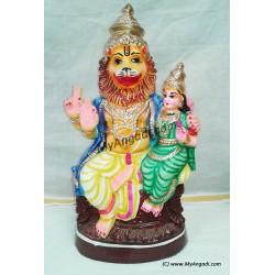 Lakshmi Narasimhar Big Golu Dolls