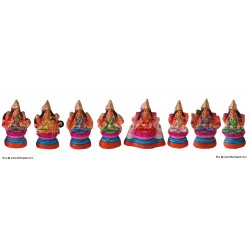 Ashtalakshmi Small Golu Dolls