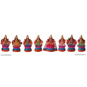 Ashtalakshmi Small Golu Dolls