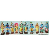 Dasavatharam Big Set Golu Doll / Golu Bommai