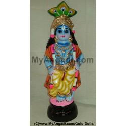 Krishna Golu Doll / Golu Bommai