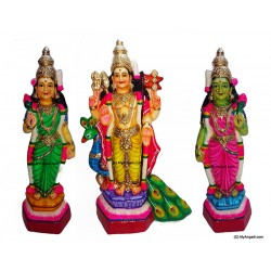 Murugan Valli Deivanai Golu Doll