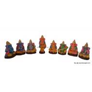 Ashta Vinayakar Golu Dolls