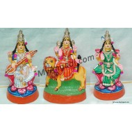 Saraswathi Lakshmi Durgai Golu Dolls