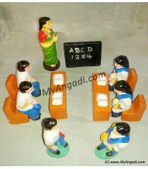 School Set Golu Dolls