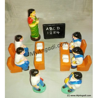 School Set Golu Dolls