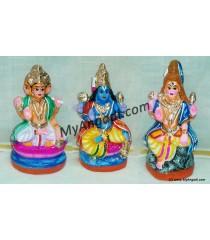 Shivan Brahma Vishnu Golu Dolls