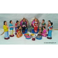Valaikaapu Set Golu Dolls