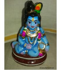 Vennai Krishnar Small Golu Dolls