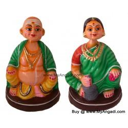 Chettiyar Set Big Golu Dolls