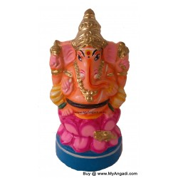 Ganesha in Lotus Golu Doll