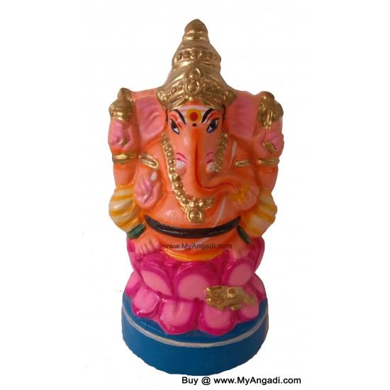 Ganesha in Lotus Golu Doll
