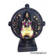 Chakkarathazhvar Golu Doll / Golu Bommai