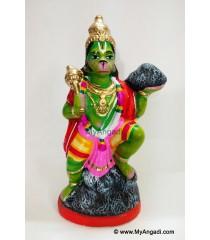 Hanuman with Sanjeevi Hills Golu Doll