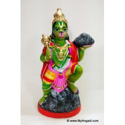 Hanuman with Sanjeevi Hills Golu Doll