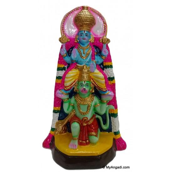 Perumal in Hanumantha Vehicle