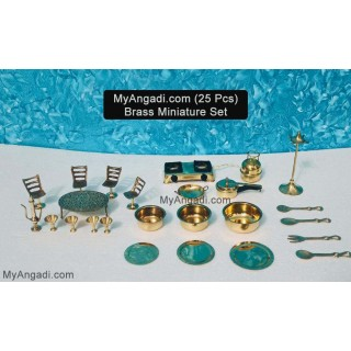 Kids Miniature Set - 25 Pcs Set