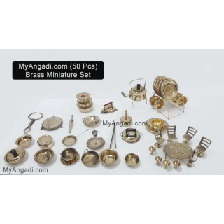 Kids Miniature Set - 50 Pcs Set