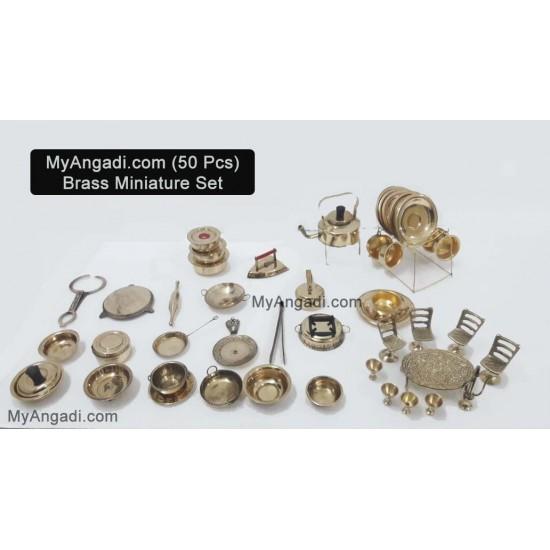 Kids Miniature Set - 50 Pcs Set