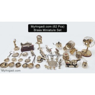 Kids Miniature Set - 62 Pcs Set
