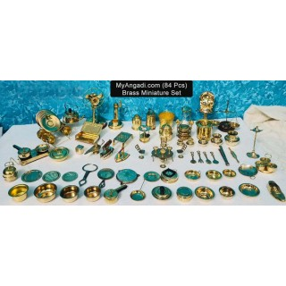 Kids Miniature Set - 84 Pcs Set