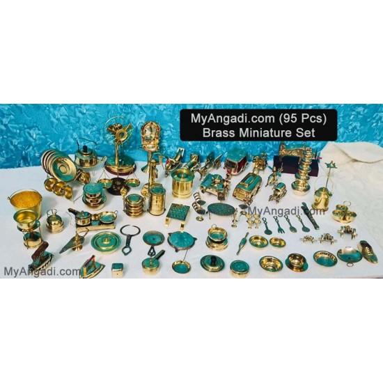 Kids Miniature Set - 95 Pcs Set