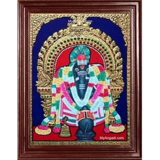 Sol Ketta Vinayakar Tanjore Painting
